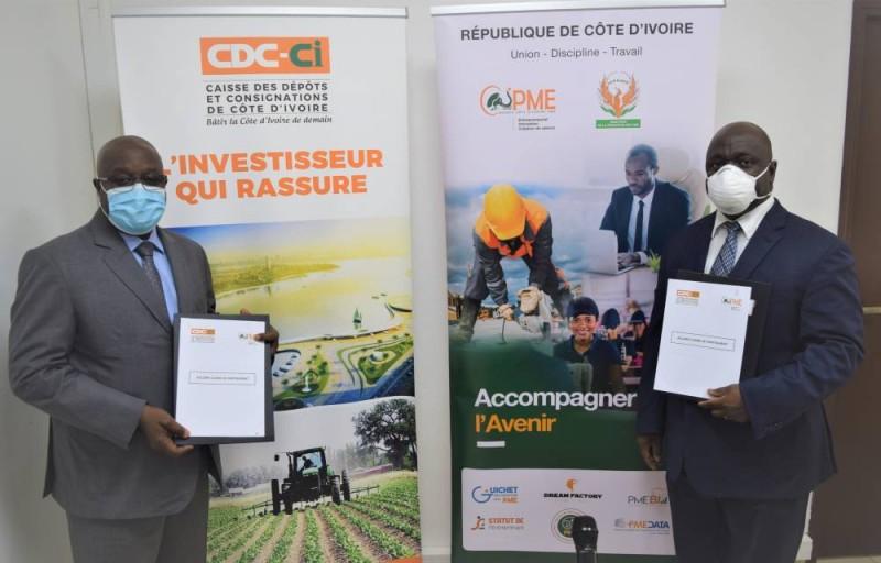 L'Agence Côte d'Ivoire Pme et la CDC-CI veulent mettre en œuvre des programmes communs d'accompagnement financier et non financier des PME.