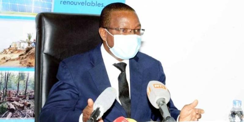 Le ministre de l'Environnement et du Développement durable, Joseph Séka Séka. (DR)