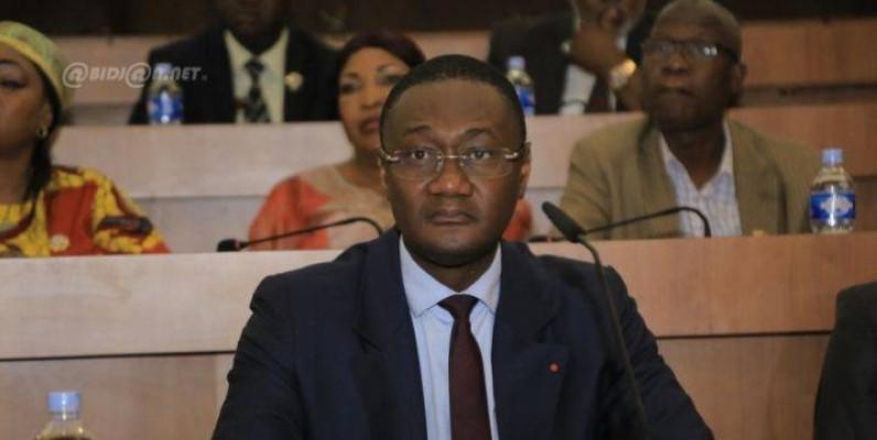 Le ministre auprès du Premier ministre, chargé du Budget et du Portefeuille de l'État, Moussa Sanogo.(DR)
