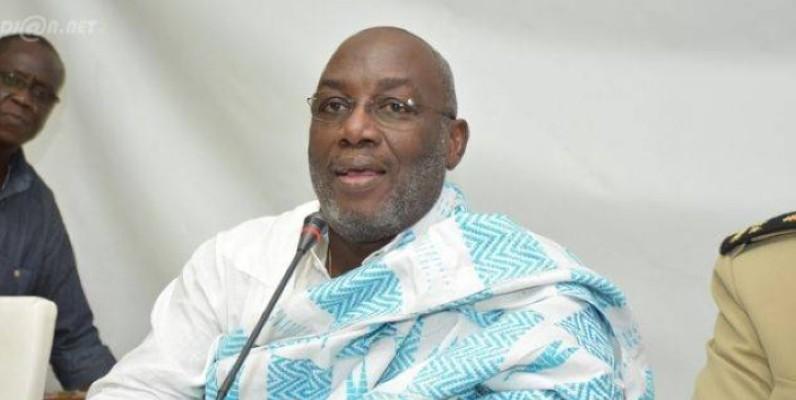 Augustin Sidy Diallo, président sortant de la Fif. (Dr)