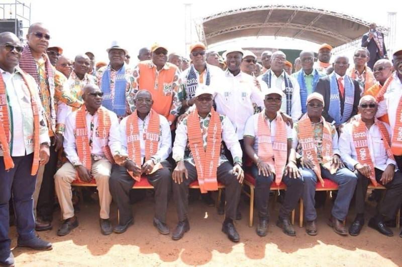 Le ministre Issa Coulibaly sonne la mobilisation dans la région du Poro. (Dr)