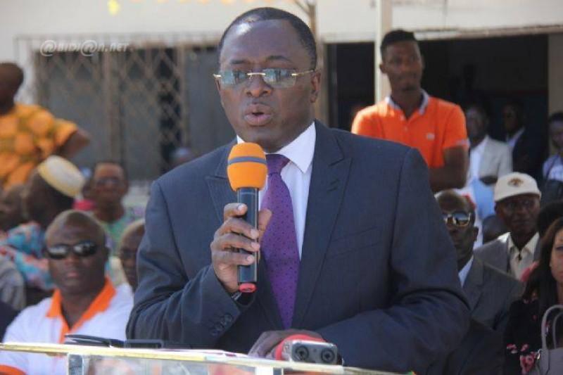 Le maire d'Attécoubé, Paulin Claude Danho, a appelé les populations ivoiriennes à davantage de vigilance dans la lutte. (Dr)