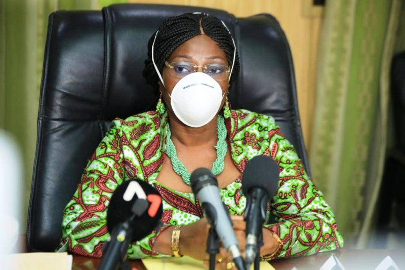 La ministre Kandia Camara. (DR)