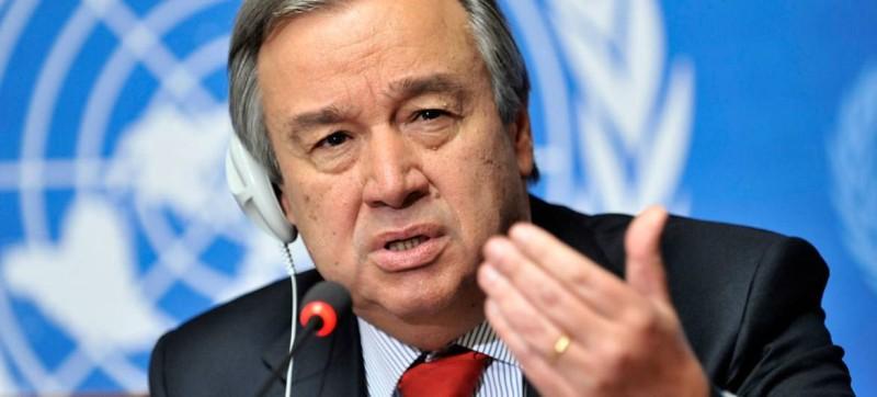 Le Secrétaire général António Guterres (DR)