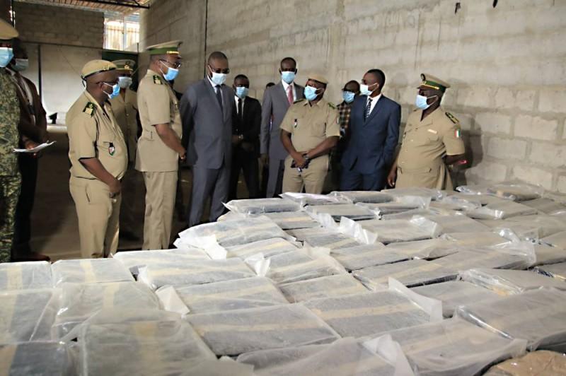 Le ministre Moussa Sanogo dans les locaux de l'Umir. (DR)