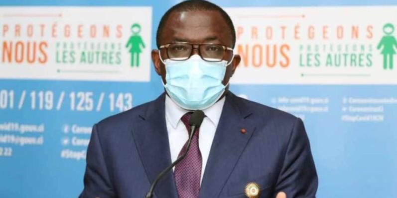 Danho Paulin, maire d'Attécoubé. (DR)