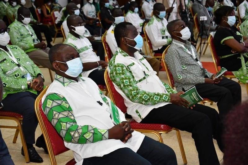La réunion extraordinaire du Pdci-Rda tenue du 4 au 5 juin 2020, au siège du parti à Abidjan-Cocody