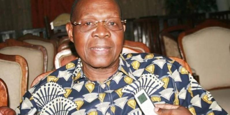 Le général Gaston Ouasenan Koné, président du comité des candidatures. (DR)