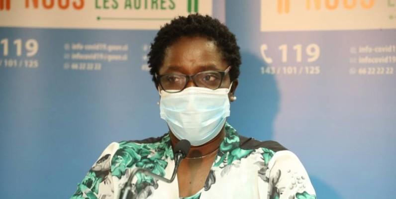 Dr Édith Kouassy, conseiller technique au ministère de la santé. (DR)