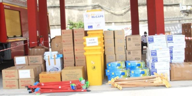 Le matériel d'un coût global de 52 millions de FCfa a été réceptionné par le DG du Paa, Hien Sié. (Dr)