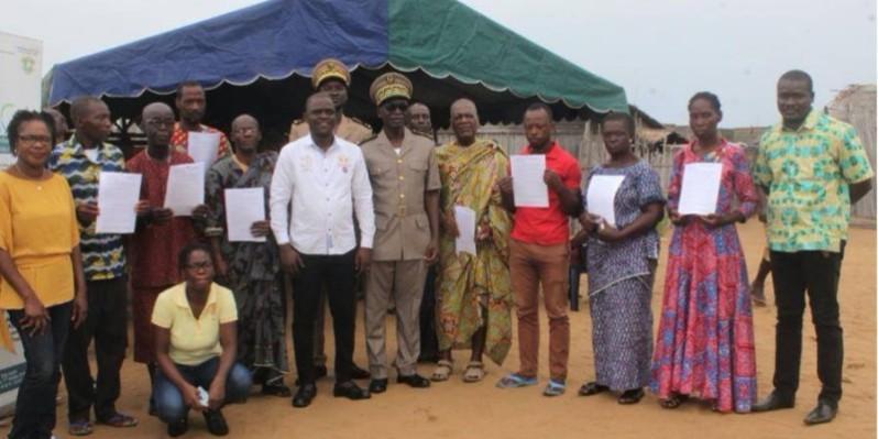 Le comité de gestion des plaintes de Lahou-Kpanda. (Dr)