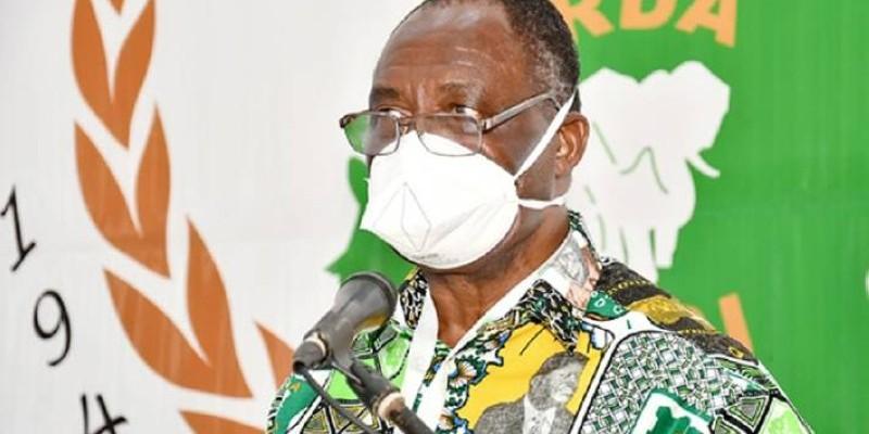 Maurice Kakou Guikahué, secrétaire exécutif en chef du Pdci-Rda. (Dr)