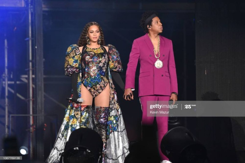 Beyonce et son mari Jay-Z  (Gettyimages)