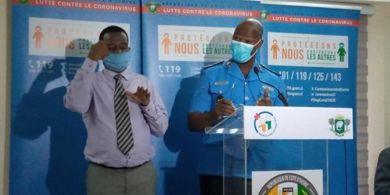 Le porte-parole de la Police nationale a engagé les tenanciers de maquis, les guides religieux à un respect scrupuleux de ces dispositions. (Dr)