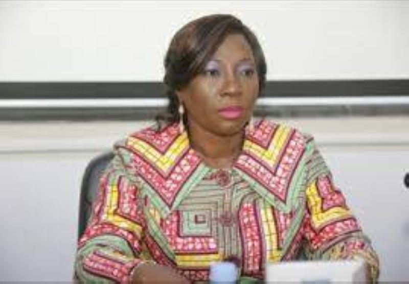 La ministre de l'Education nationale, de l'Enseignement technique et de la Formation professionnelle, Kandia Camara. (Dr)