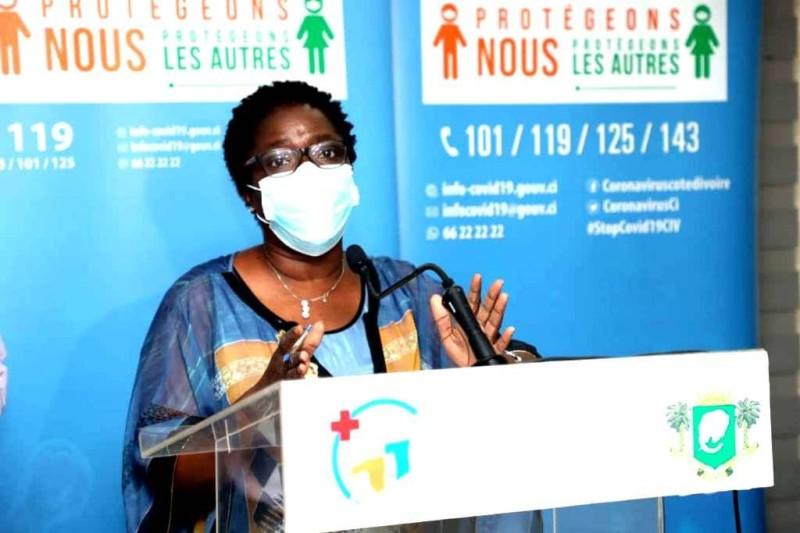 Edith Kouassy, conseiller technique du ministre de la santé. (DR)