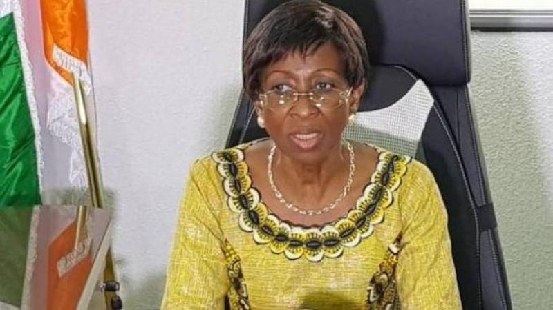Bakayoko-Ly Ramata, ministre de la Femme, de la Famille et de l'Enfant, vice-présidente du Comité interministériel de lutte contre le travail des enfants. (DR)