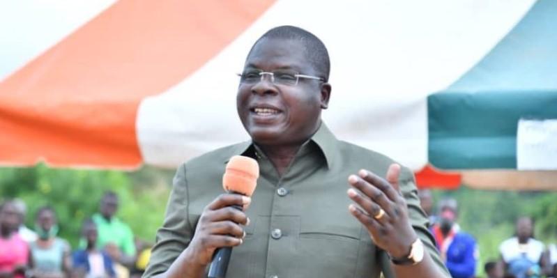 Le président de l'Accd a invité les populations à s'inscrire sur le listing électoral. (Dr)