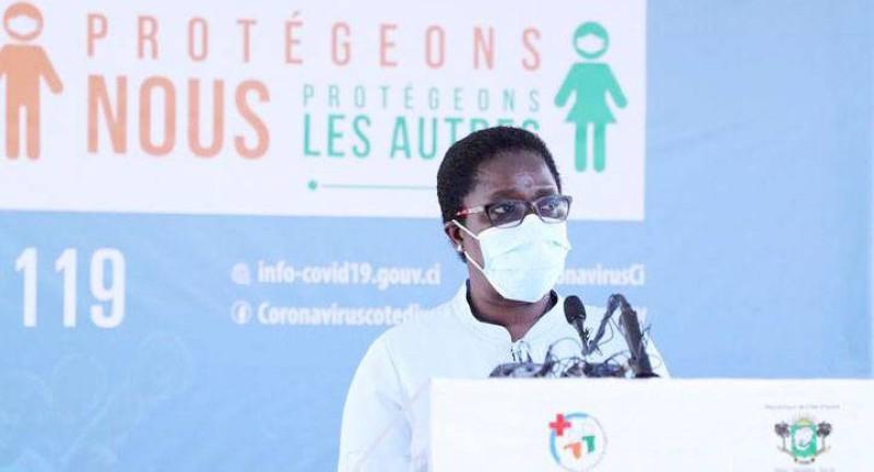 Le conseiller technique du ministre de la Santé et de l'Hygiène publique, Dr Edith Kouassy. (Dr)