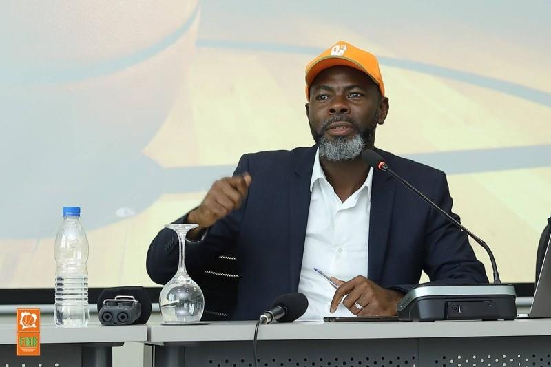 Mahama Coulibaly de la Fédération ivoirienne de basket-ball. (DR)