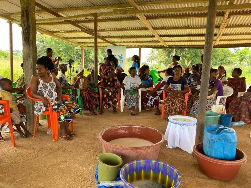 Mme Kouadio Clarisse Milce a initié dans la région de la Nawa, une tournée de sensibilisation et de formations