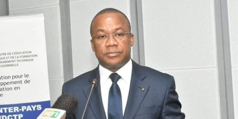 Brice Kouassi, coordonnateur régional Rhdp du Bélier. (DR)