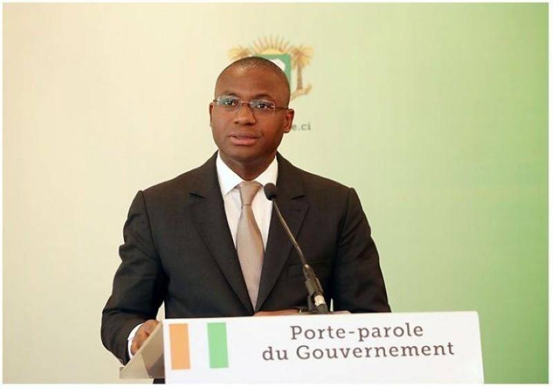 Le ministre de la Communication et des médias, Sidi Tiémoko Touré, Porte-Parole du Gouvernement (DR)