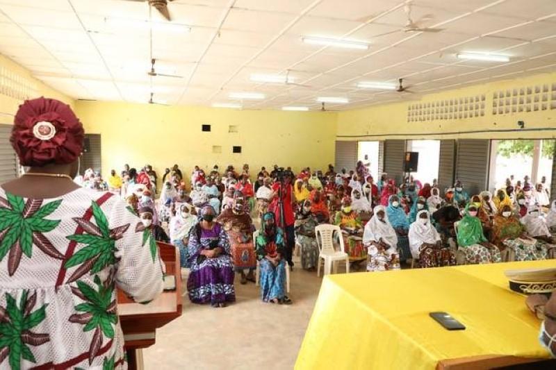 La ministre a invité ses sœurs à investir le terrain