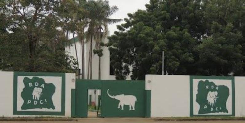 Le siège du Pdci-Rda à Cocody. (Photo : DR)