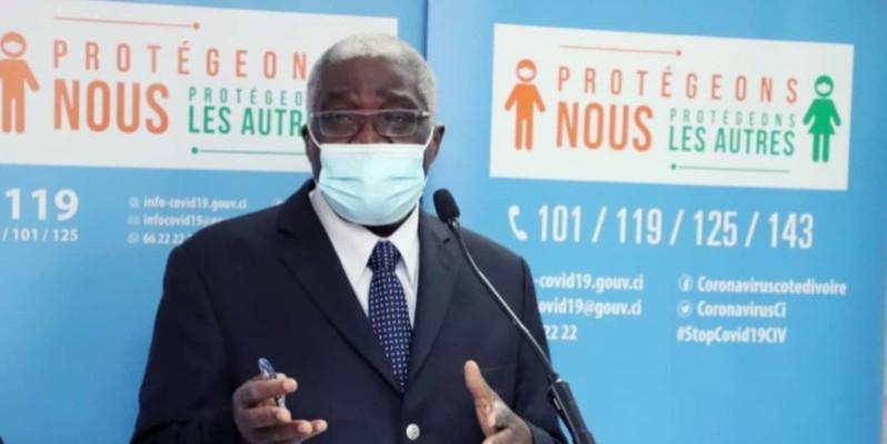 Le maire de Bouaké, Nicolas Djibo. (DR)