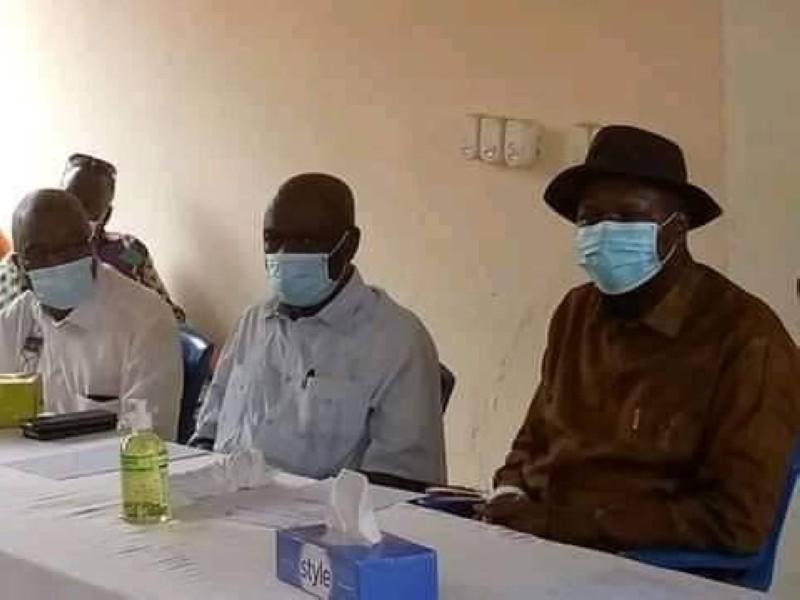 Albert Mabri Toikeusse a appelé à la paix dans le Tonkpi. (Dr)