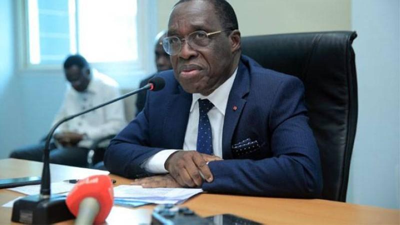 Le ministre Aka Aouélé a exprimé sa reconnaissance à Marc Vincent et salué l'engagement de l'Unicef aux côtés de la Côte d'Ivoire. (Dr)
