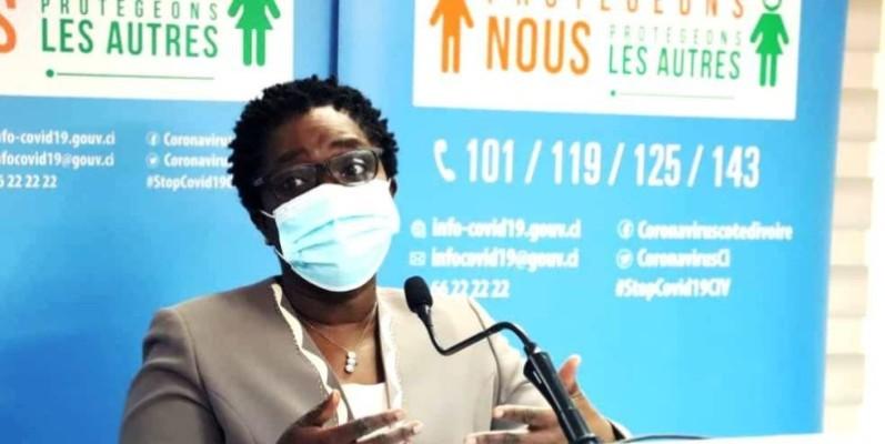 Dr Edith Kouassy, conseiller technique du ministre de la santé. (DR)