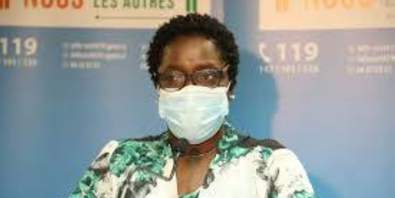Dr. Édith Kouassy, conseiller technique du ministre de la Santé et de l'Hygiène publique. (DR)