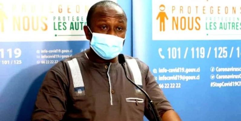 Le maire d'Alépé, Simplice Yapi Ossin. (DR)