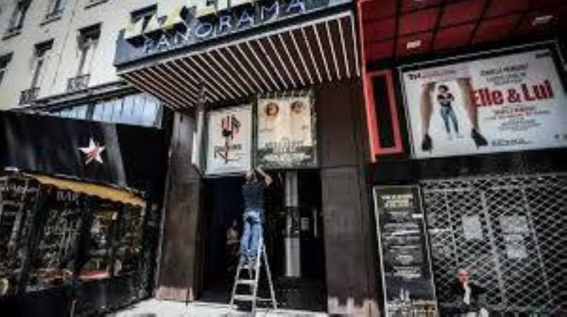 Le cinéma Max Linder à paris prépare sa réouverture. (Dr)