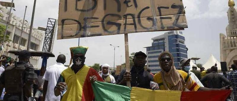 Le Mali est secoué par une crise politique, avec plusieurs manifestants dans la rue. (DR)