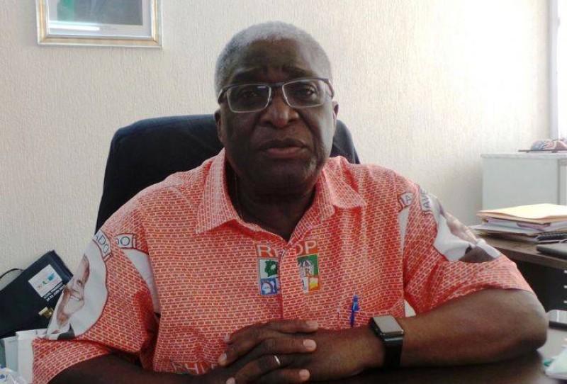 Djibo Nicolas, maire de la commune de Bouaké. (DR)