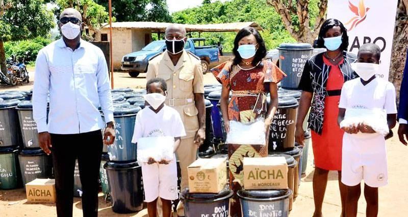 Rebecca Yao a appelé les populations du département de Botro au respect strict des mesures barrières contre le coronavirus. (Dr)