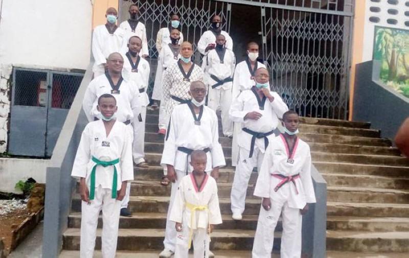 Les Taekwondo-in d'Adjamé devront encore patienter pour retrouver leurs salles d'entraînement. (Dr)