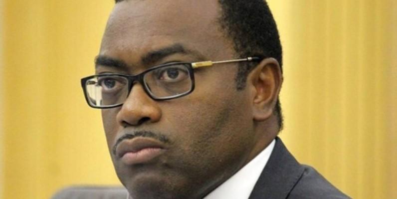 Adesina Akinwumi, président de la Bad. (DR)