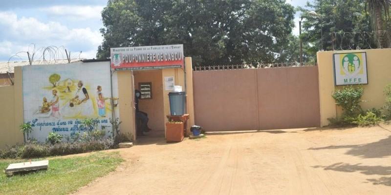 La pouponnière de Dabou accueille des pensionnaires abandonnés souffrant de graves déficiences psychiques. (Photos : Sébastien Kouassi)