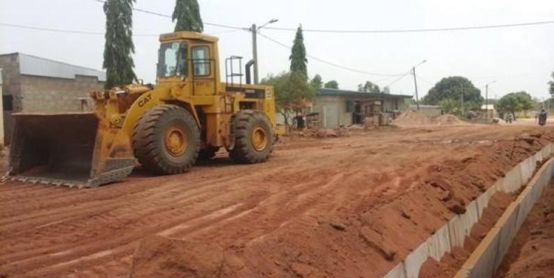 La circulation sera, après ces travaux de réhabilitation, plus aisée sur cette route. (DR)