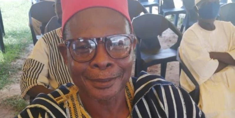 Ouattara Yacouba, chef de quartier de Bambarasso. (DR)