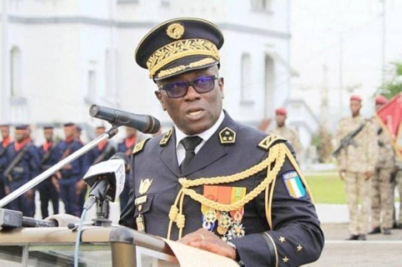 Général de Corps d'Armée Lassina DOUMBIA, chef d'état-major des armées. (DR)