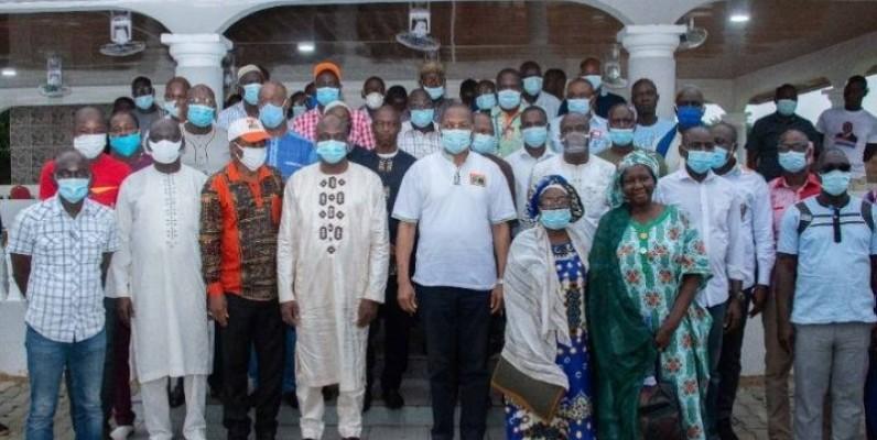 Bruno Koné ratisse large pour le Rhdp dans la région de la Bagoué. (DR)
