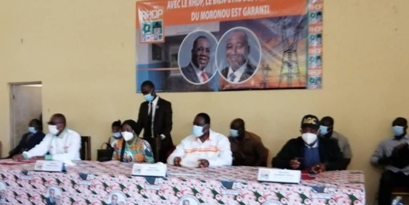 Kandia Camara a mis à profit la rentrée politique du RHDP pour appeler les populations du Moronou à se faire enrôler massivement, afin de prendre part, à l'élection présidentielle du 31 octobre prochain. (DR)