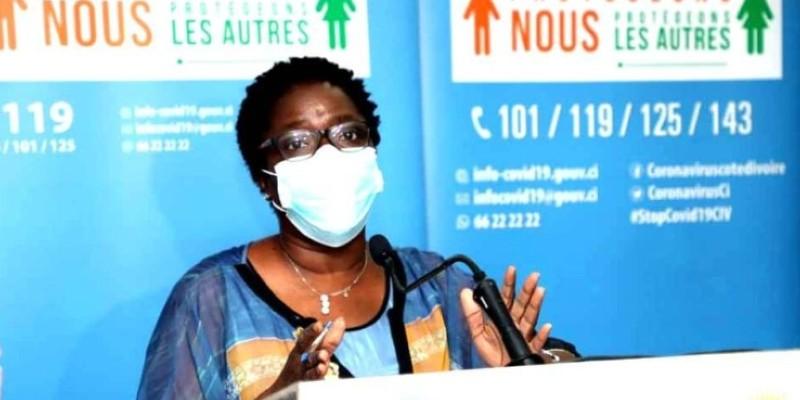 Dr Edith Kouassy, conseiller technique au ministère de la Santé et de l'Hygiène publique. (Dr)