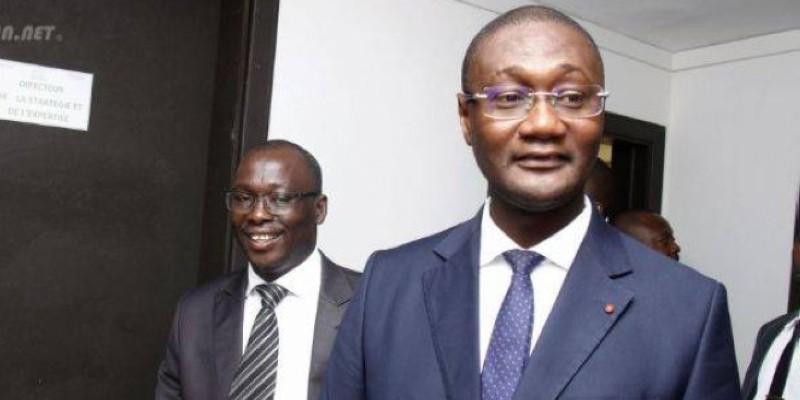 Moussa Sanogo, ministre auprès du Premier ministre chargé du Budget et du Portefeuille de l'État. (Photo d'Archives)