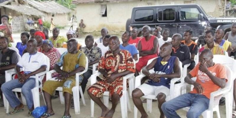 Les populations, attentives, ont fait la promesse de participer massivement à l'opération d'enrôlement et d'identification. (Dr)